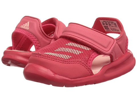 adidas Kids Forta Swim 1 (Infant/Toddler) - Core Pink/Haze Coral