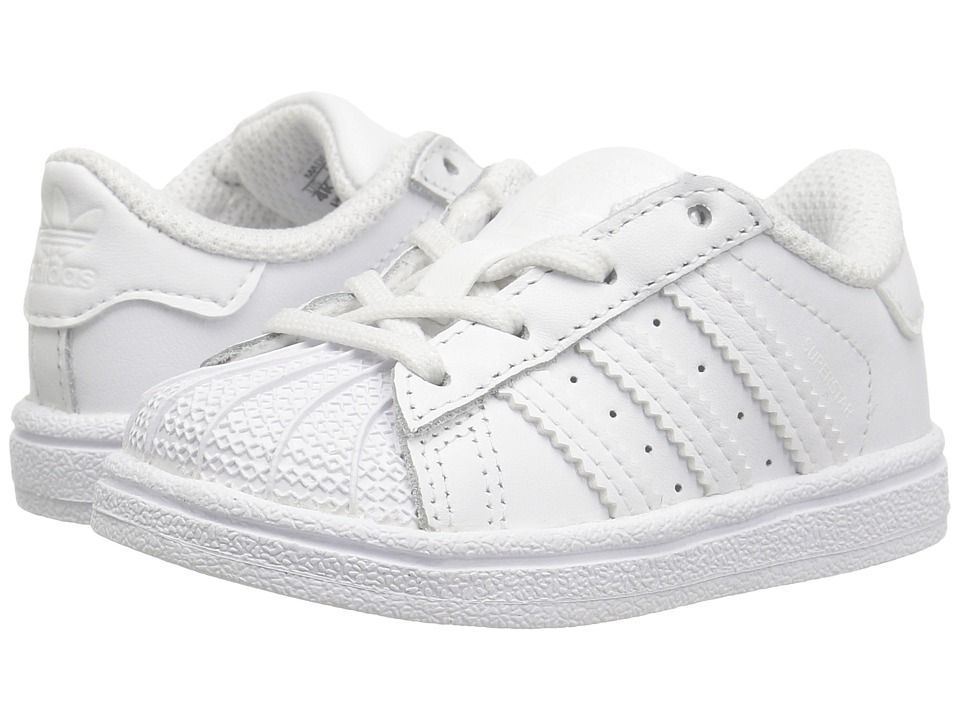 adidas Originals Kids - Superstar (Infant/Toddler) (White) Kids Shoes
