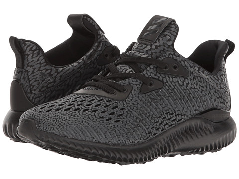 adidas Kids Alpha Bounce Aramis (Big Kid) - Core Black/Utility Black
