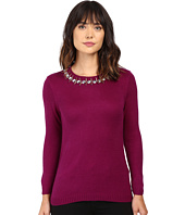 Ivanka Trump - Jewel Neck Sweater
