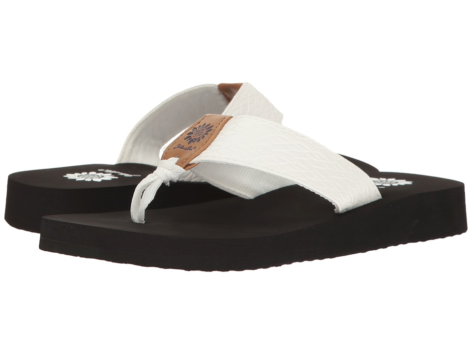Yellow Box - Flax (White) Women's Sandals