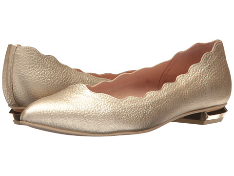French Sole Tequila - Platino Wetallic Pebble Leather