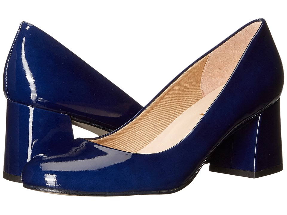 French Sole Trance (Deep Blue Patent Leather) Women