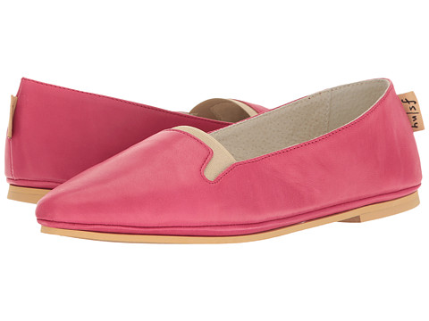 French Sole Urge - Dragonfruit Nappa/Natural Leather