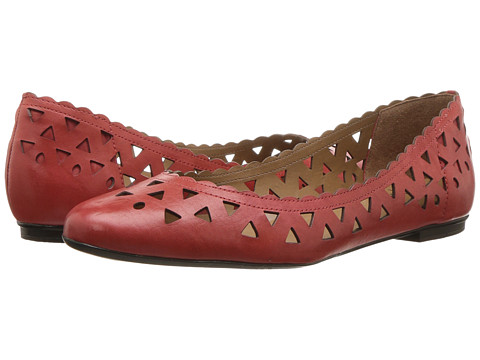 French Sole Valley - Red Leather