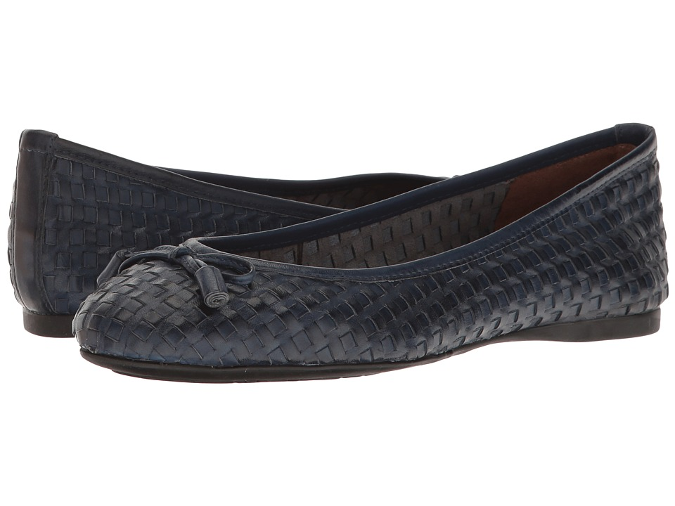 French Sole Vogue (Navy Leather) Women