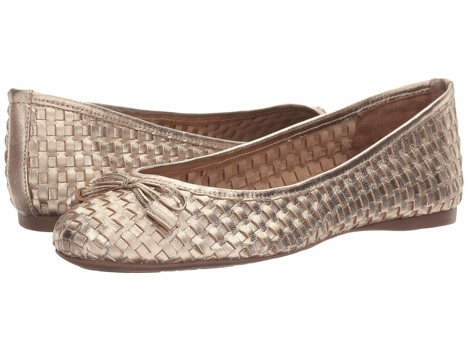 French Sole Vogue (Platino Metallic Leather) Women