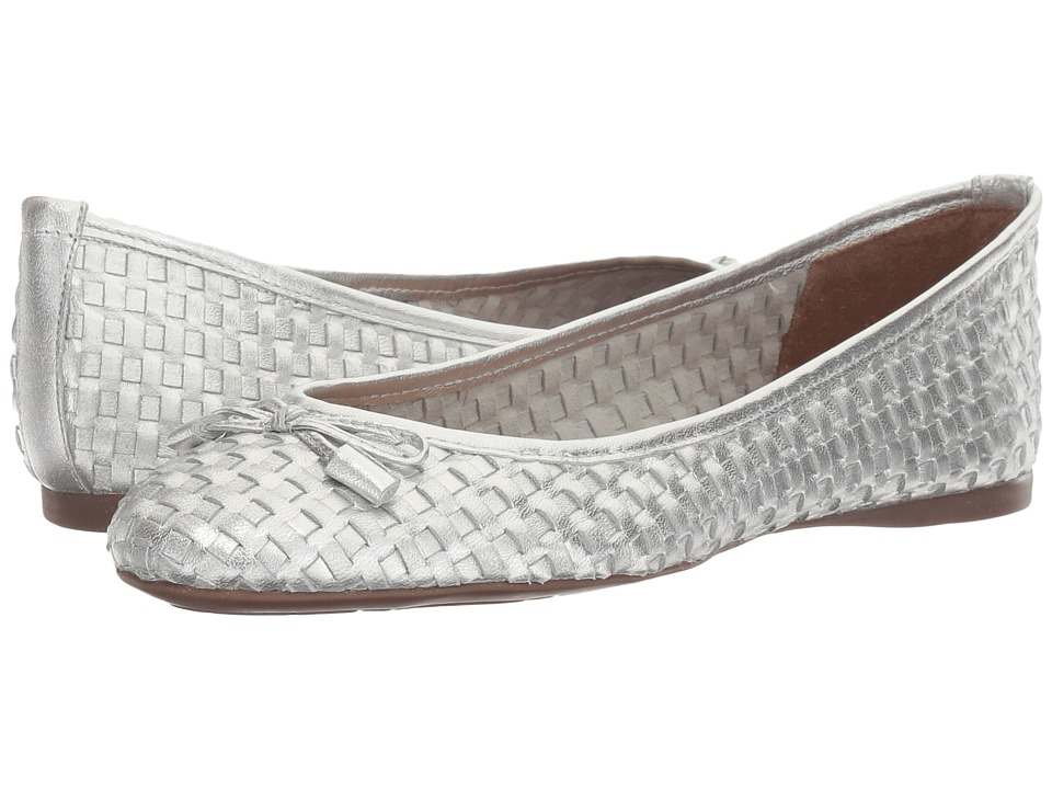 French Sole Vogue (Silver Metallic Leather) Women