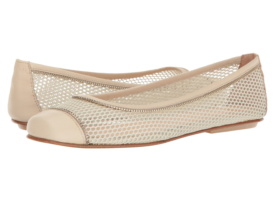 French Sole Wayside (Natural Mesh/Soft Calf) Women