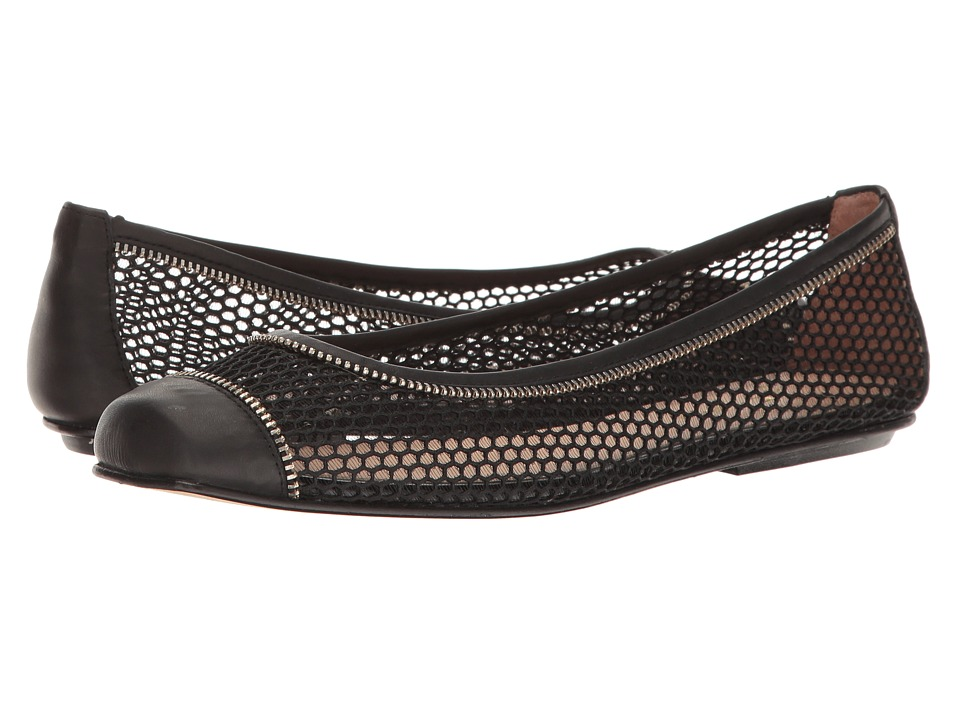 French Sole Wayside (Black Mesh/Soft Calf) Women