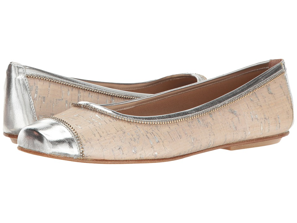 French Sole Wild (Off-White/Silver/Cork/Metallic Leather) Women