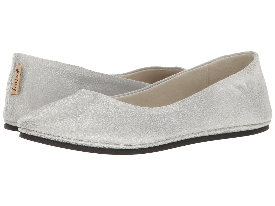 French Sole Sloop (Silver Pandora Print Leather) Flats