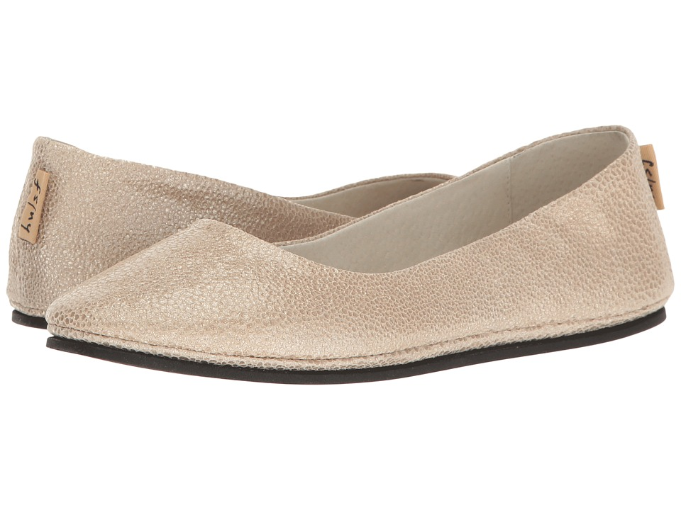 French Sole Sloop (Platino Pandora Print Leather) Flats