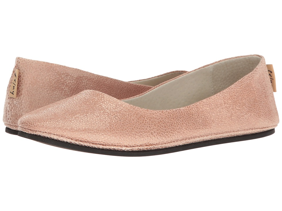 French Sole Sloop (Rose Pandora Print Leather) Flats
