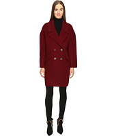 Diane von Furstenberg - Roma Solid Double Face Wool Boyfriend Coat