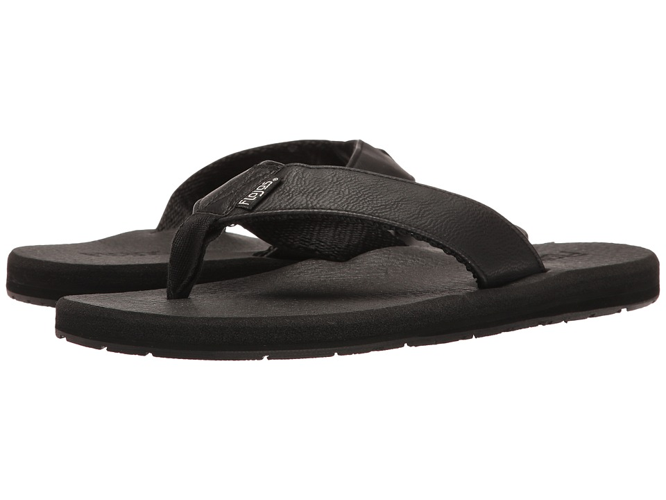 Flojos - Chase (Black) Men's Sandals