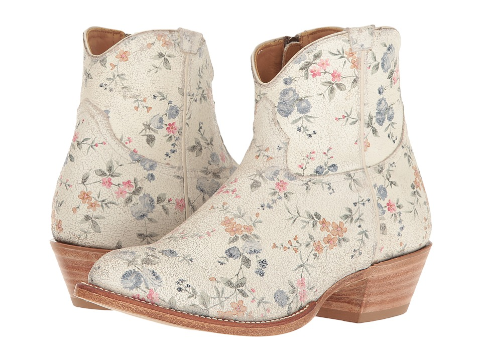 Lucchese Felicity (Floral Print) Cowboy Boots