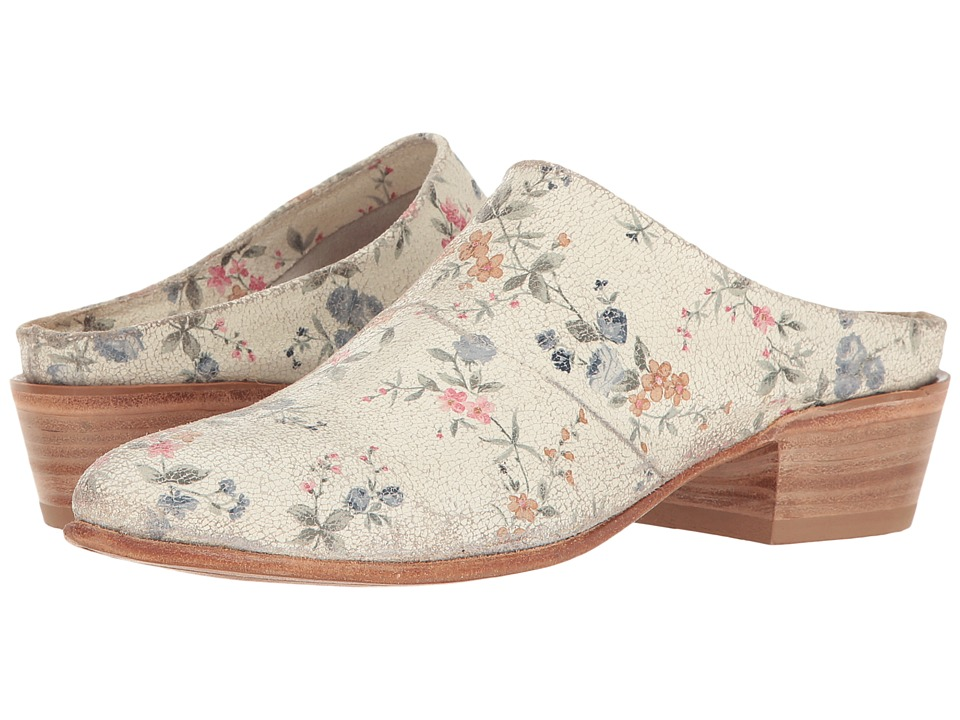 Lucchese Fay (Floral Print) Cowboy Boots