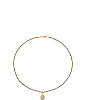 Dee Berkley - Gemstone Choker Necklace Pyrite