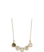 Dee Berkley - 5 Gemstone Necklace Labradorite