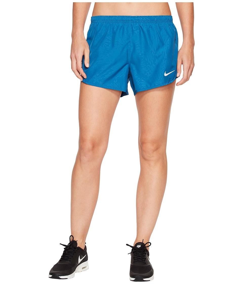 Nike Dry Tempo 3 Running Short (Industrial Blue) Women