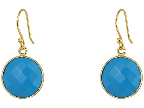 Dee Berkley Single Stone Earrings - Turquoise