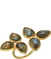 Dee Berkley - Gemstone Flower Ring Labradorite