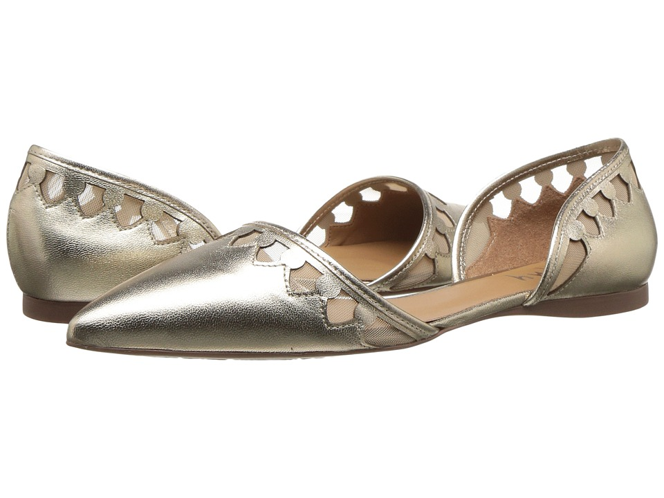 French Sole Volt (Platino Metallic Leather) Women