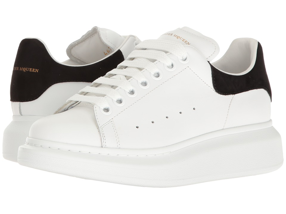 Alexander McQueen - Oversized Sneaker (White/Black) Womens Lace up casual Shoes
