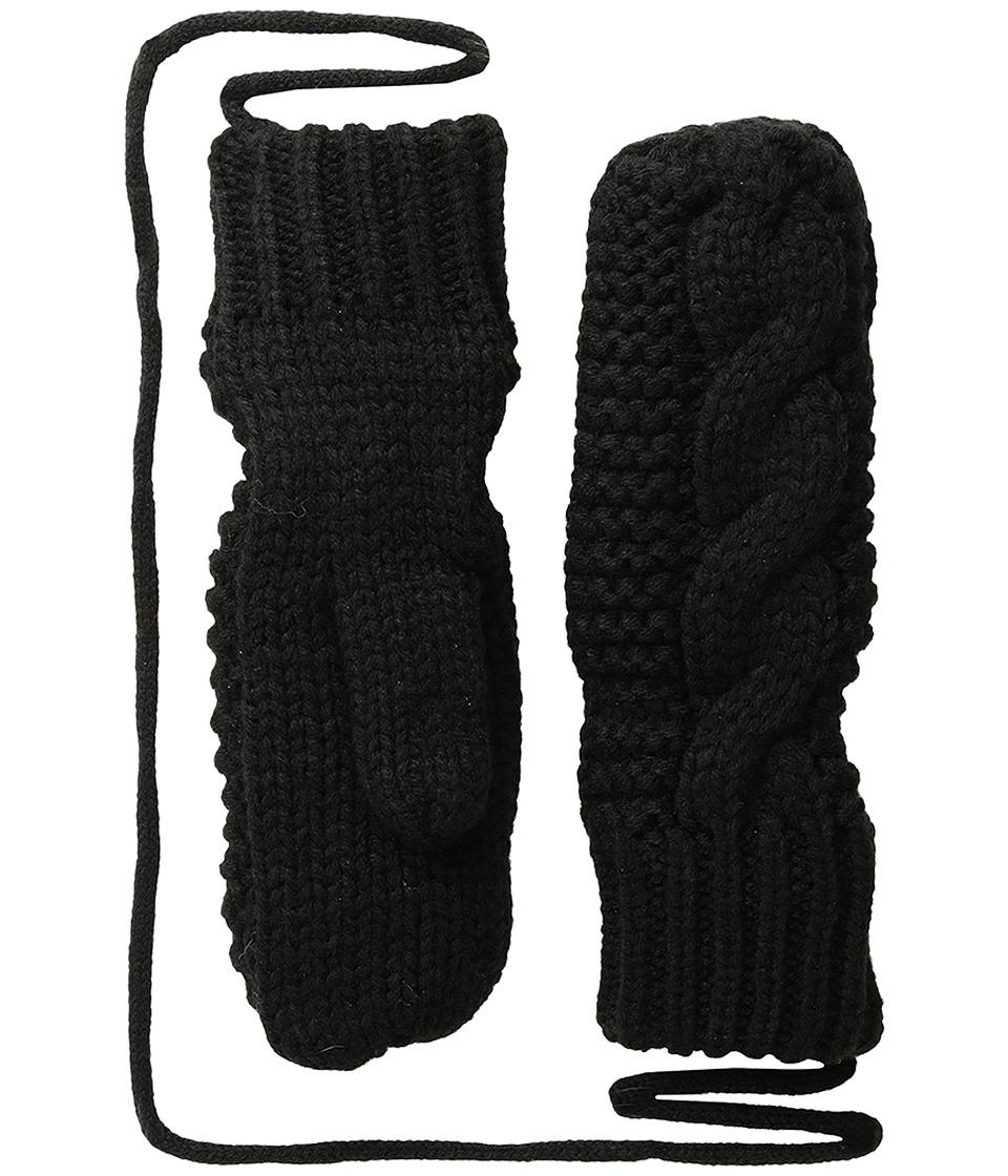 BULA Kids Mika Mitten (Big Kid) (Black) Over-Mits Gloves