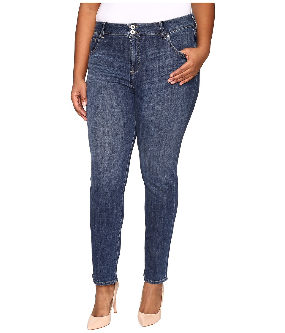 Lucky Brand Plus Size Emma Straight in Salty Water (Salty Water) Women