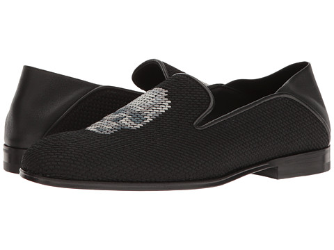 Alexander McQueen Scarpa Tessu S.Cuoio - Black/Multi Grey/Black/Black