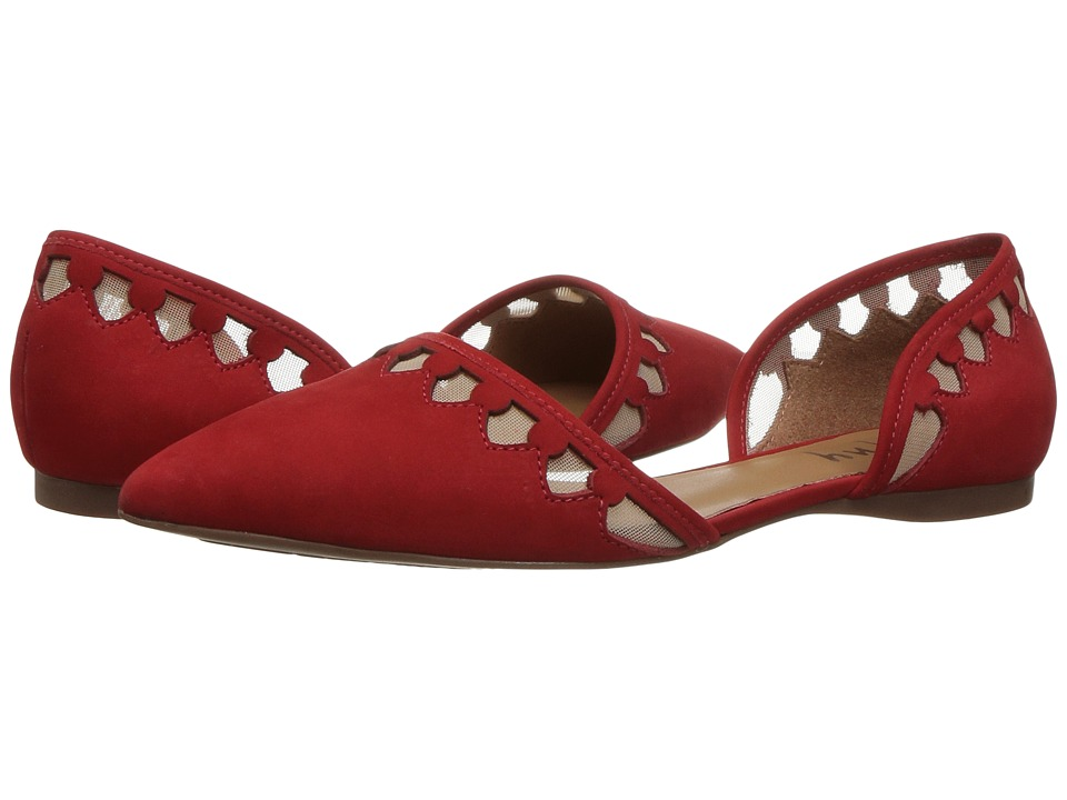 French Sole Volt (Red Nubuck) Women