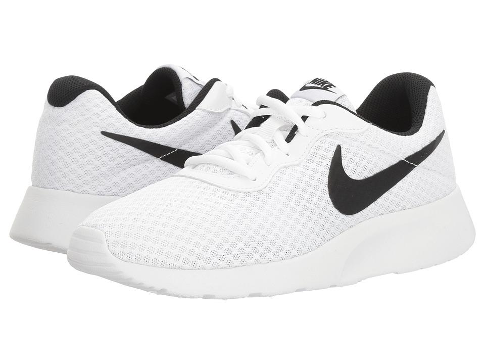 Nike - Tanjun (White/Black) Womens Running Shoes