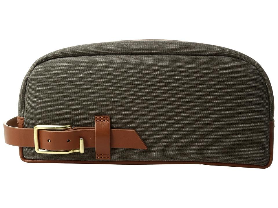 Miansai - Lido Dopp Kit (Green/Cognac) Bags