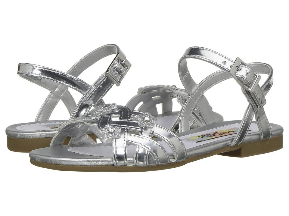 Rachel Kids Julianne (Little Kid) (Silver Metallic) Girl's Shoes