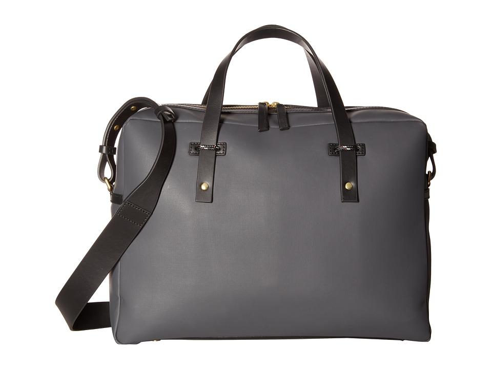 Miansai Fulton Briefcase (Black/Black 1) Briefcase Bags