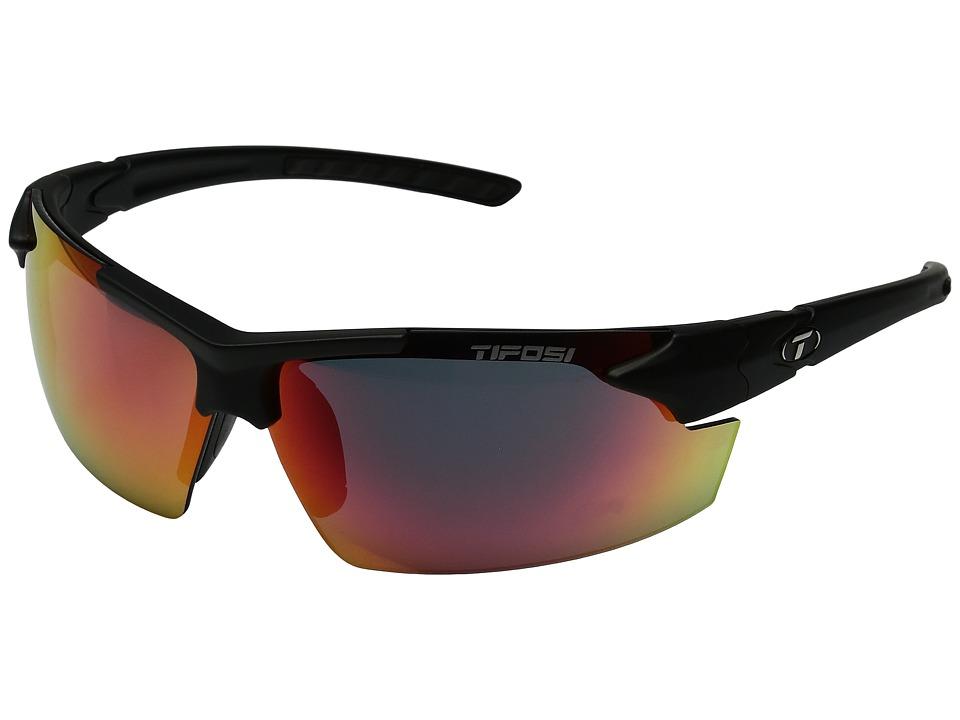 Tifosi Optics Jettm FC (Matte Black) Athletic Performance Sport Sunglasses