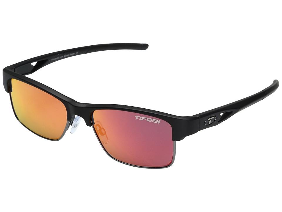 Tifosi Optics Highwire (Matte Black) Sport Sunglasses