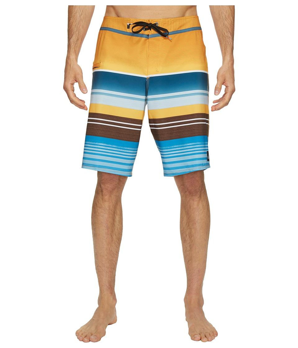 Quiksilver Everyday Stripe Vee 21 Boardshorts (Artisan Gold) Men