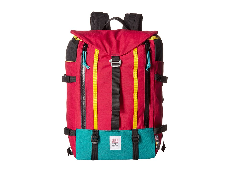 Topo Designs - Mountain Pack (Red) Backpack Bags