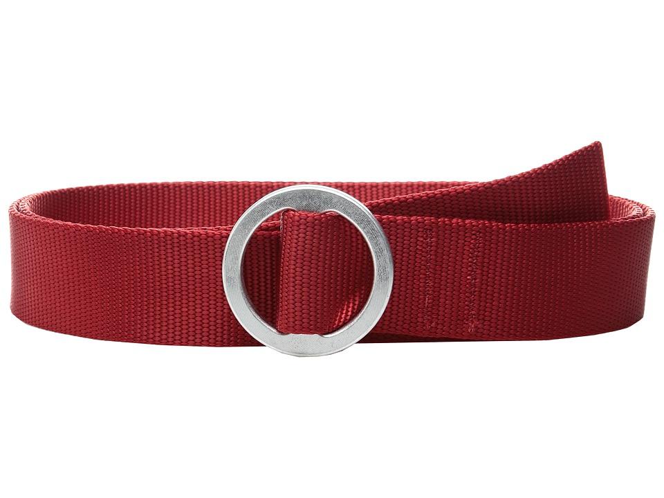 Topo Designs - Web Belt (Red) Belts