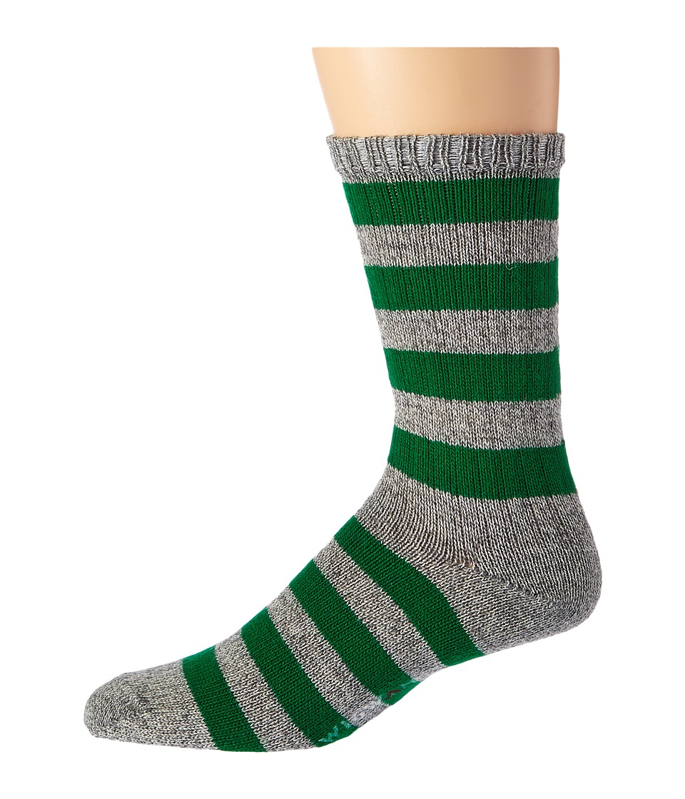 1920s-1950s New Vintage Men's Socks Wigwam - Scrum GreyGreen Mens Crew Cut Socks Shoes $18.00 AT vintagedancer.com