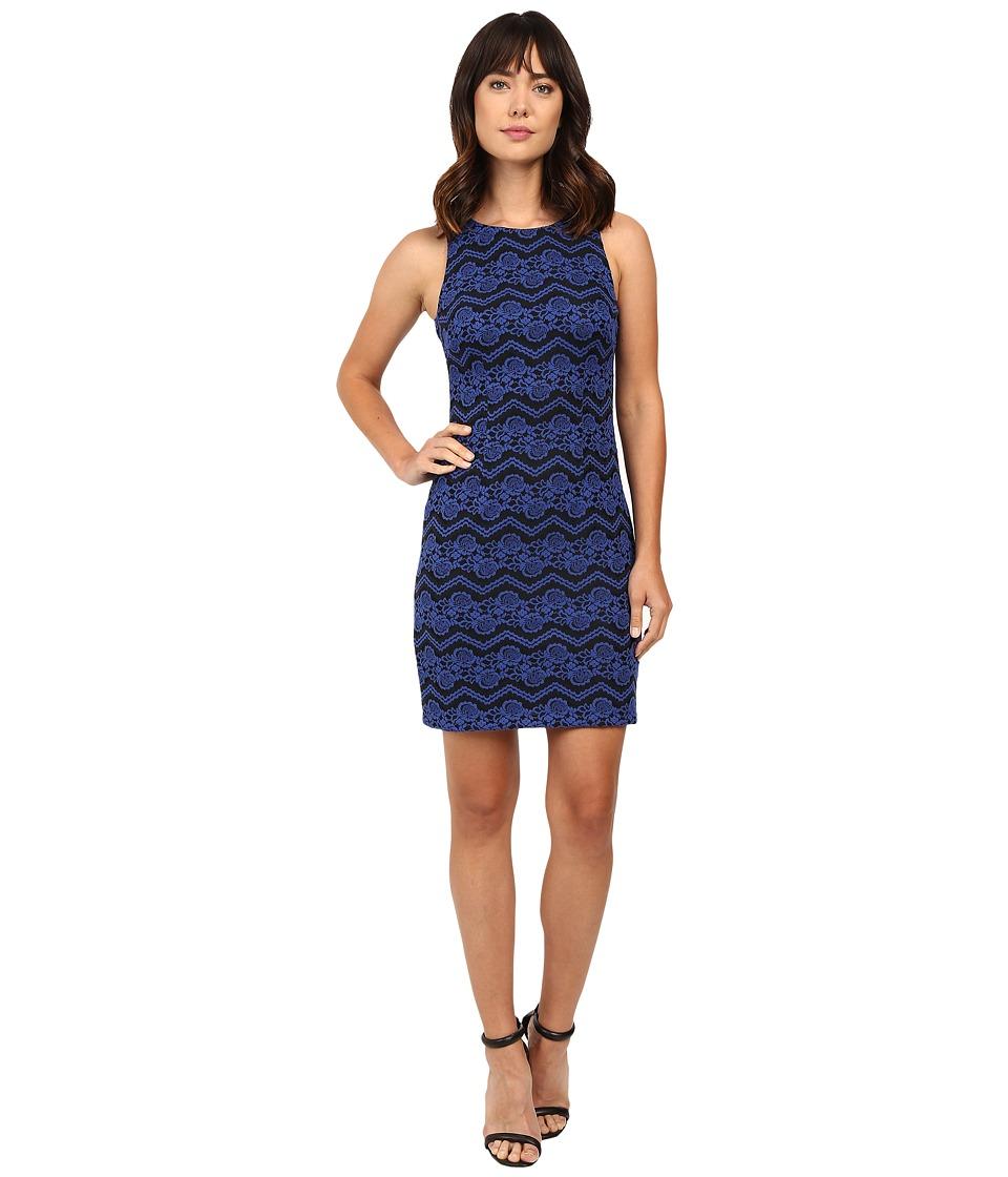 Jessica Simpson Dress JS6D8956 (Sapphire/Black) Women