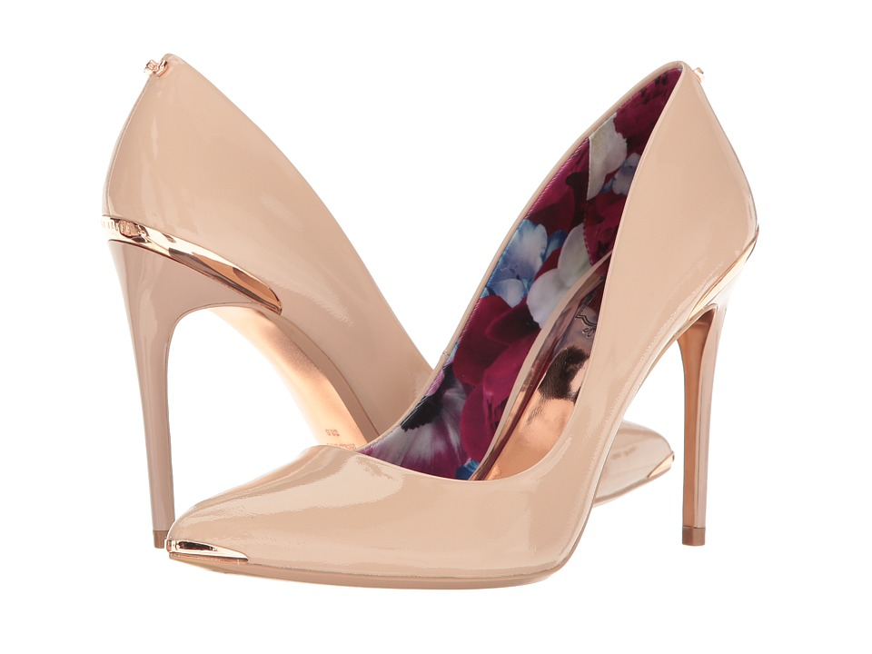 Ted Baker Kaawa (Nude Patent Leather) High Heels