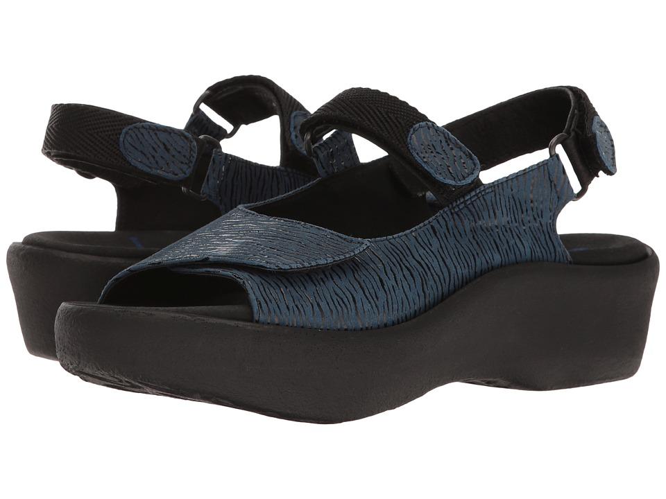 Wolky - Jewel (Denim Blue) Women's Sandals