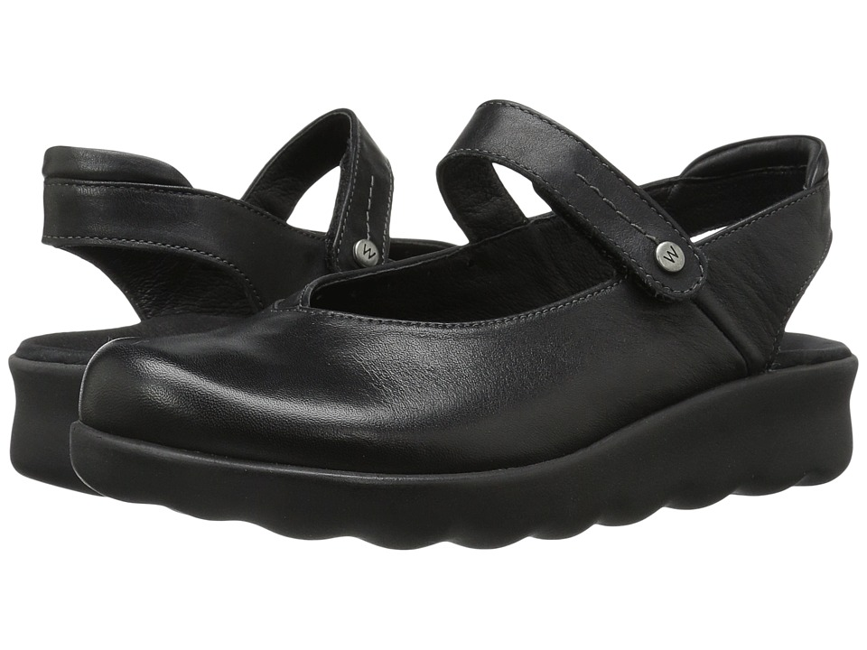 Wolky Drio (Black) Women's Shoes