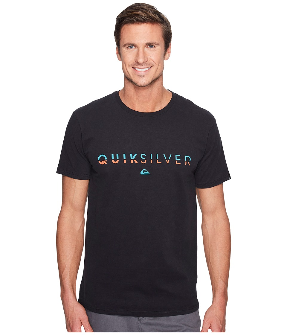 Quiksilver Line Up Tee (Black) Men