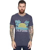 The Original Retro Brand - California Short Sleeve Tri-Blend Tee