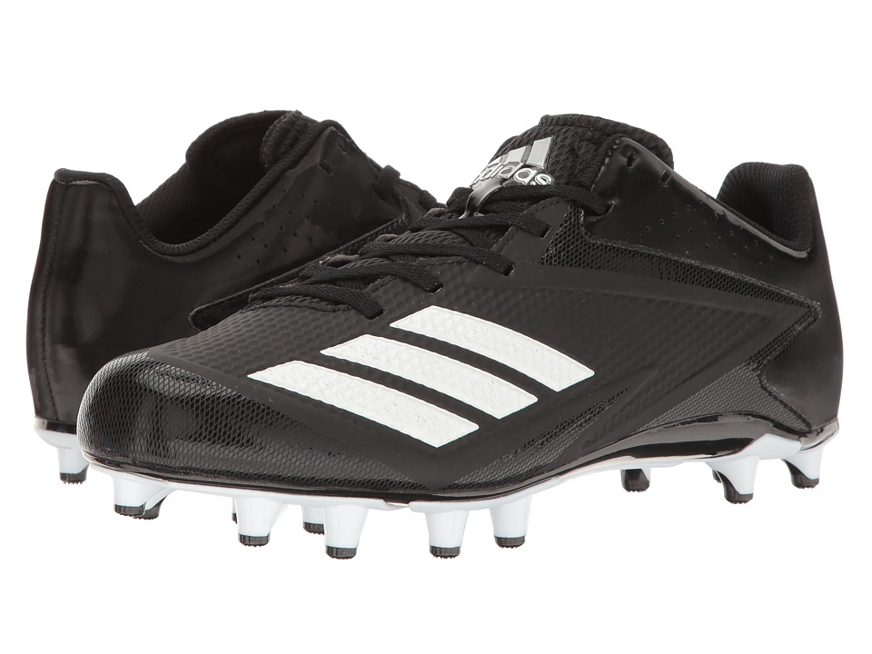 adidas 5-Star Low Football (Black/White/Silver Metallic) Men